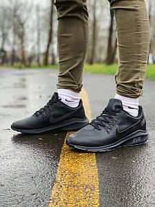 Кроссовки мужские в стиле Nike RUN черные