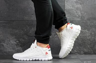 Мужские кроссовки белые натуральная кожа подошва резина демисезонная мужская обувь 15\7499 белые натуральная кожа подошва резина демисезонная мужская обувь 15\7499 42