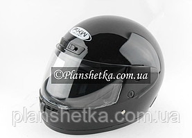 Шолом для мотоцикла Hel-Met 101 чорний глянсовий