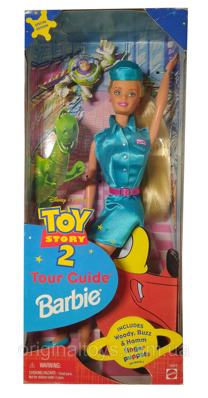 Kollekcionnaya Kukla Barbi Gid Istoriya Igrushek 2 Tour Guide Barbie Disney Toy Story 2 1999 Mattel 24015 Cena 850 Grn Kupit V Dnepre Prom Ua Id 1121230024