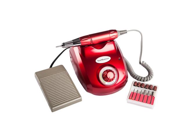 Фрезер для маникюра и педикюра  Nail Drill ZS 603 красный, фото 2