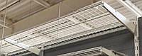 Полка сітчаста шириною 1206 мм глубиною 406мм для гардеробної системи зберігання Україна, фото 1
