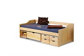 Ліжко дитяче MAXIMA 2 сосна Halmar