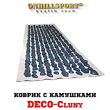 Килимок з камінчиками DECO – Cluny 140х40 (бежева основа)