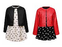 Комплект   на девочек  110 / 160 см платье и пиджак