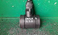 Б/у расходомер воздуха для Opel Omega B, Astra G, Corsa C, Combo, Combo Tour, Vectra B, Zafira A, 2,2 D Bosch, фото 1