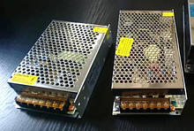 Блок живлення 200W-IP20 - без волозахисту 12V (МЕТАЛ) для світлодіодної стрічки
