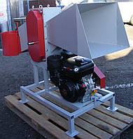 Измельчитель веток двигатель 18 л.с (диаметр ветки до 120 мм, подрібнювач гілок, дробилка веток) ДС-120БД18