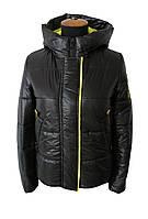 Модные женские куртки весенние 42-48 черный