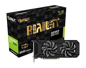 Видеокарта Palit GeForce GTX 1080 Dual OC (NEB1080U15P2-1045D) Over-Stock Б/У