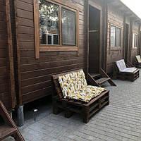 Деревянные дома из бруса для баз отдыха строительство в кредит фото