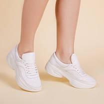 Модные женские кроссовки натуральная кожа Размерный ряд 36-41, фото 2