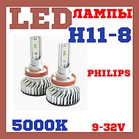 Лампы светодиодные Prime-X Z H11-Н8 5000К (2 шт.), фото 1