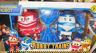 Игровой наборРоботы Поезда трансформеры Transformating Robot Trains Alf Key Альф и Кей