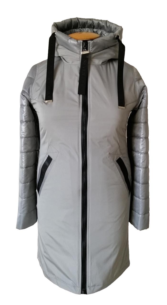 Женская весенняя куртка  большого размера  50-60 брокард