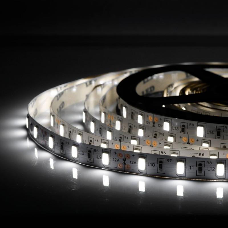 Світлодіодна стрічка 5630-60led-10mm-12V, IP20 білий 5м/п