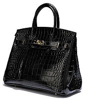 Женская кожаная брендовая сумка Биркин35 см Original quality. Зеркальная реплика. ЛЮКС