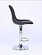 Барный стул HOKER черный, фото 2
