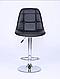 Барный стул HOKER черный, фото 3