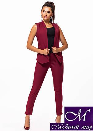 Женский костюм жилет + брюки (р. 42, 44, 46, 48) арт. 23-240, фото 2
