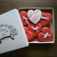 Имбирный пряник ручной работы печиво імбирне 10 причин чому я тебе кохаю подарунок на Валентина