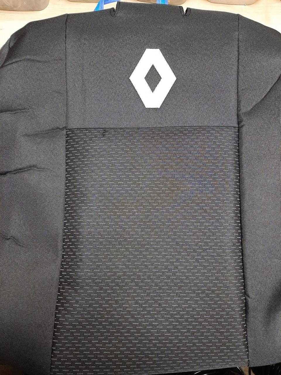 Чехлы на Рено Симбол (седан) 2002-2012 / авто чехлы Renault Symbol (стандарт)