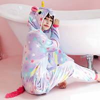 Пижама Кигуруми Звездный единорог Радужный единорог