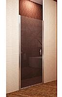 Душові двері 90 SANSA SH-706, профіль BRUSHED, скло прозоре, 90x185 см