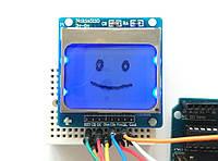 Arduino РК LCD PCB модуль дисплей Nokia 5110 - синій, фото 1