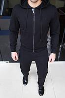 Мужской спортивный костюм Trussardi Jeans H0267 черный