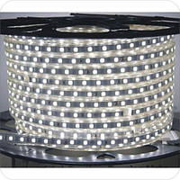 Светодиодная лента 220V SMD 3014 120LED/m IP68 3000К теплый белый Warm White
