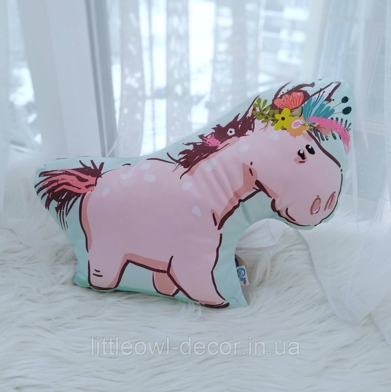 Подушка пони- Единорожек 45см