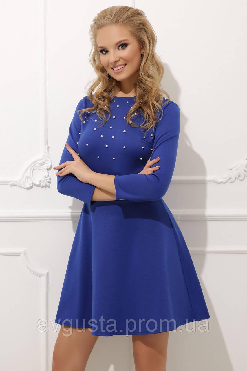 Платье Lerri ПЛАТЬЕ 020 электрик 42-44