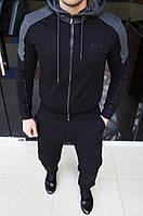 Мужской спортивный костюм Emporio Armani H0268 черный
