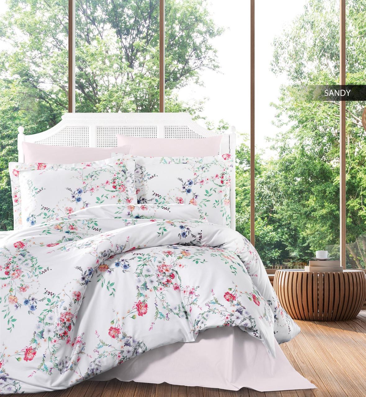Комплект постельного белья Ecosse Сатин 200х220 Sandy