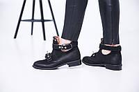 Финальная Распродажа! - 50% Ботинки женские, натуральный нубук!