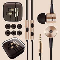 Наушники Piston v2(копия) с микрофоном/ корпус алюминиевый