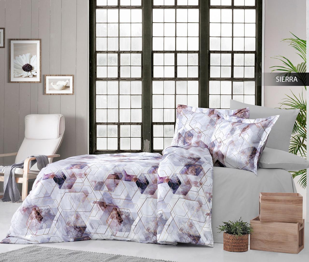 Комплект постельного белья Ecosse Сатин 200х220 Sierra