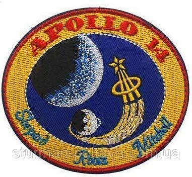 Патч нашивка  Аppolo  -14  Mission NASA   (Rotcho) USA