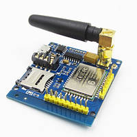 GSM GPRS A6 модуль беспроводный с антенной SIM900A, фото 1