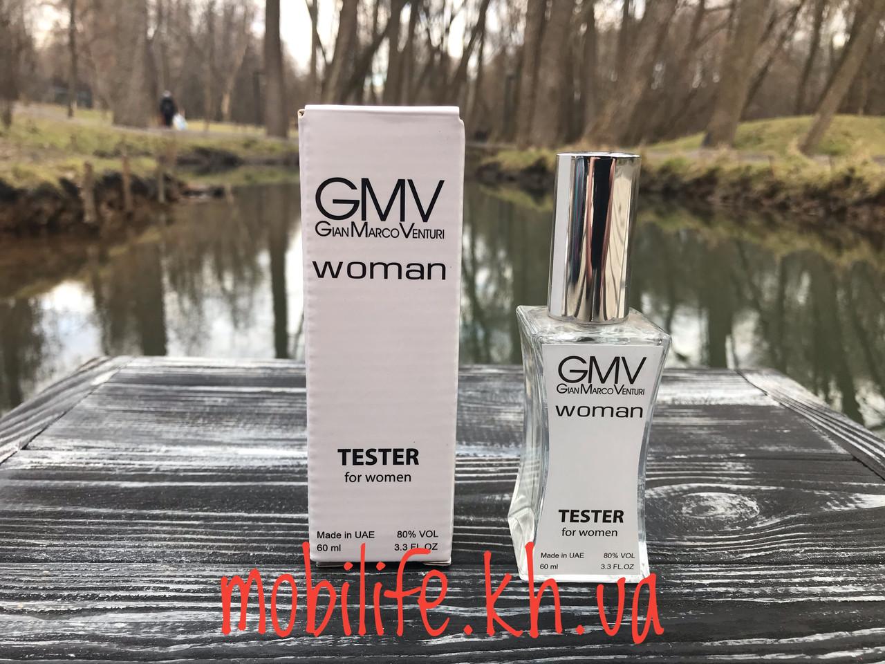 Женская туалетная вода Тестер Gian Marco Venturi GMW 60мл/Высокое Качество/