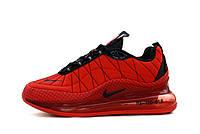 Мужские кроссовки Nike Air Max 720 яркие летние текстильные найки стильные  в красном цвете,  ТОП-реплика, фото 1