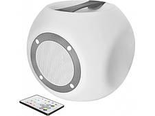 Портативные колонки Trust Lara Wireless Bluetooth speaker with multi-colour party lights - white (22799)