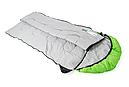 Мешок спальный КЕМПИНГ Peak с капюшоном (220х80см), салатовый, фото 4
