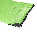 Мешок спальный КЕМПИНГ Peak с капюшоном (220х80см), салатовый, фото 5