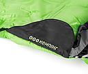 Мешок спальный КЕМПИНГ Peak с капюшоном (220х80см), салатовый, фото 6