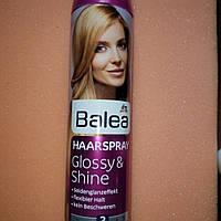 Лак Блеск и эластичность ваших волос Balea Glossy & Shine Haarlack 300 мл