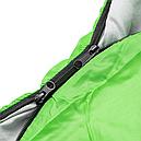 Мешок спальный КЕМПИНГ Peak с капюшоном (220х80см), салатовый, фото 7