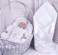 Демисезонный комплект одежды для новорожденных Стиль белый