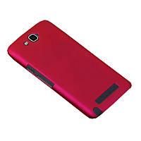 Чехол Colored Plastic для Alcatel OneTouch Hero 8020 / 8020D Ярко-розовый